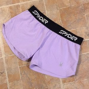 Spyder athletic shorts size women's small